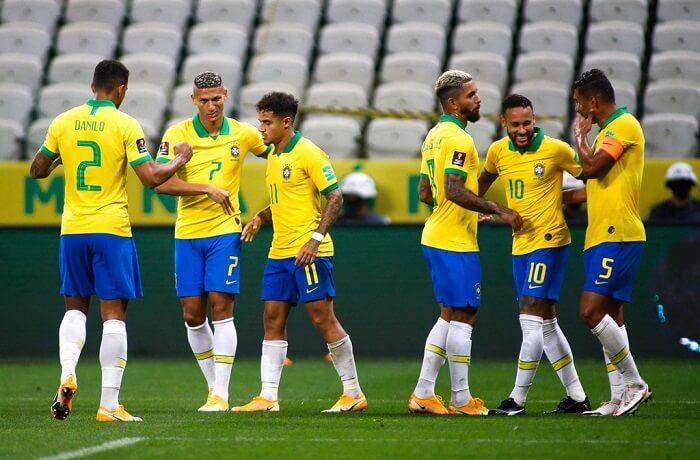Brazil là quốc gia có nhiều nhân tài bóng đá